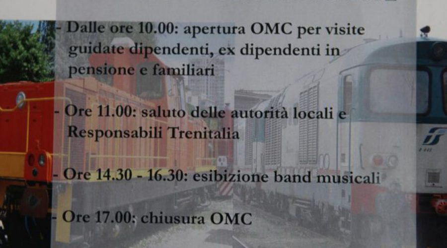 Visita alle OGR-OMCL per il Centenario