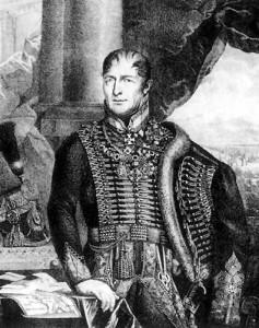 Il generale Johann Maria Philipp Frimont.