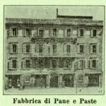 Stabilimento a vapore per la fabbricazione di Pane e Paste di Adelaide Vespignani Rossi.