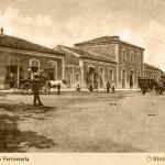 La vecchia stazione ferroviaria, situata poco più a nord dell'attuale.