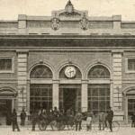 Il corpo principale della nuova stazione, anni '20.