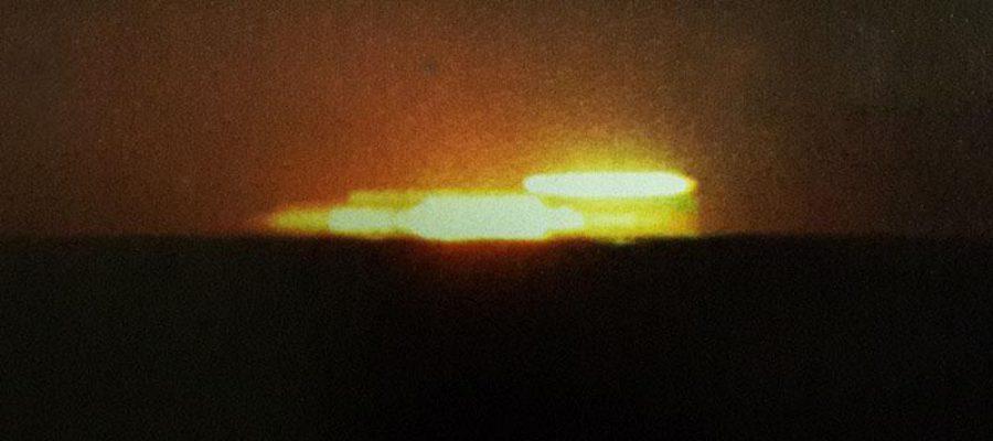 Che UFO fotogenico!