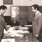 Sergio Giordano il giorno della laurea
