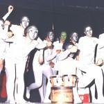 Il gruppo riminese Zafra nello spettacolo Mecchano