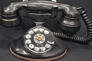 Nascita del servizio telefonico a Rimini