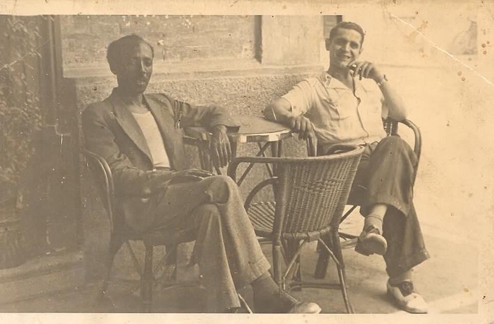 Mauro Giordano con il signor Baracca