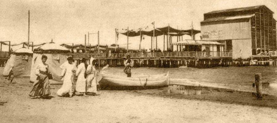 Bagni di mare di cent'anni fa