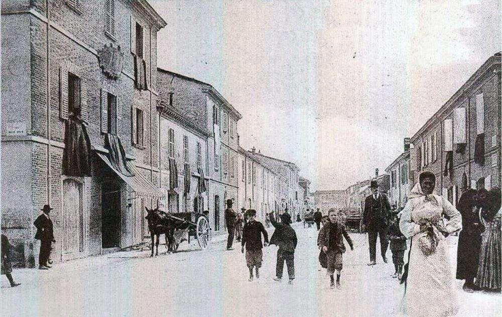 Borgo Mazzini 1900 circa