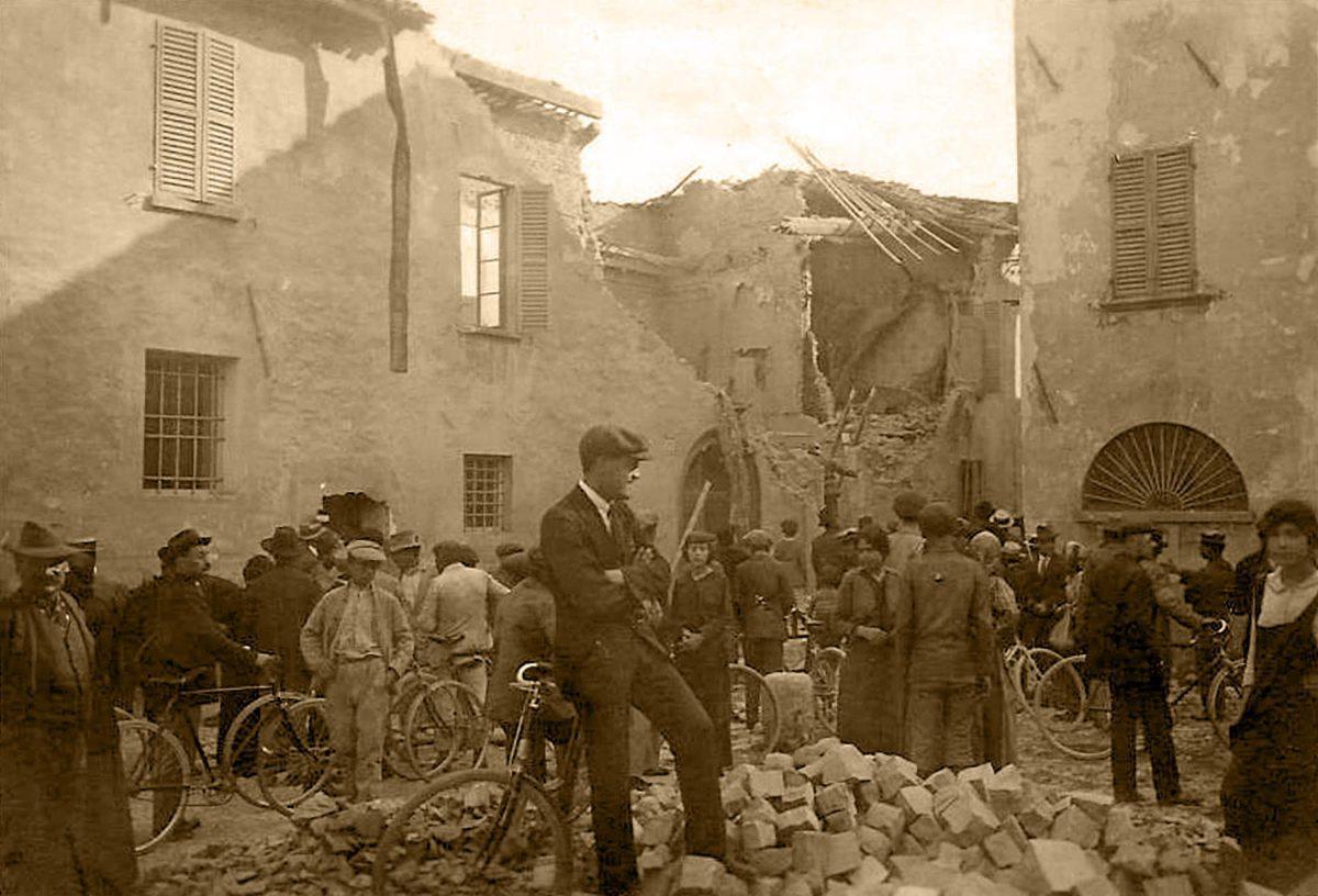 Granate austriache su Rimini 1915