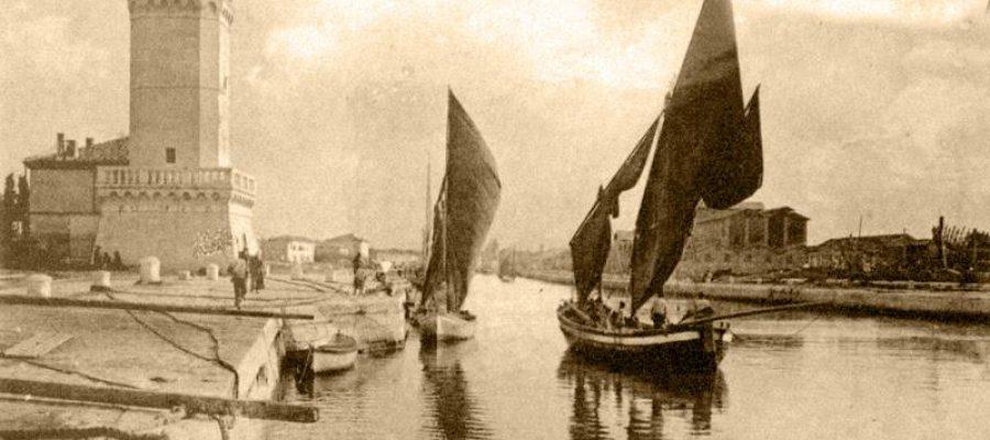 Il fortino sul porto di Rimini