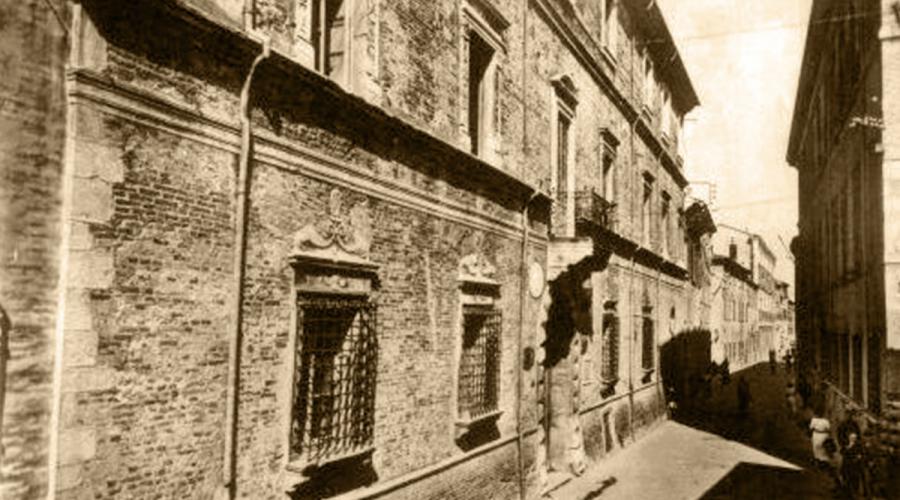 I delfini di Palazzo Lettimi